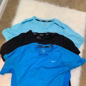 3 Nike Shirts size M